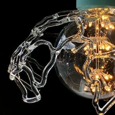 Flamework Pendel, Loenstrup Hot Glass by Susan Vivi Soerensen