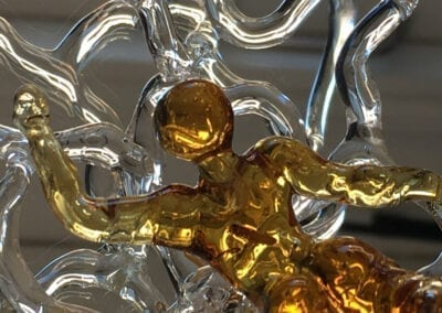 Skulptur, Galleri Vetro, Hot Glass Hirtshals, Susan Vivi Soerensen, crop